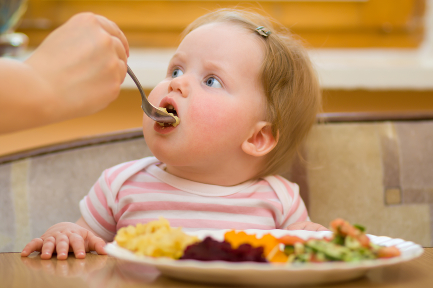 образом, получается, что едят ваши дети в 2-3 года девушки уже